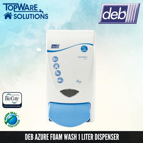DEB Refresh Azure Foam Wash Dispenser 1L, Hygiene Solution, DEB - Topware Solutions