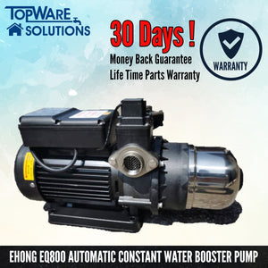 EHONG EQ800 Automatic Constant Water Booster Pump, Water Pumps, PUREGEN - Topware Solutions