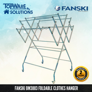 FANSKI Foldable Clothes Hanger BM3883, Clothes Hangers, FANSKI - Topware Solutions