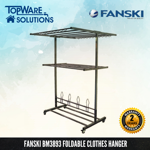 FANSKI Foldable Clothes Hanger BM3893, Clothes Hangers, FANSKI - Topware Solutions