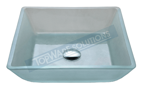 FANSKI Art Glass Counter Top Basin GS22-SF21, Bathroom Basins, FANSKI - Topware Solutions