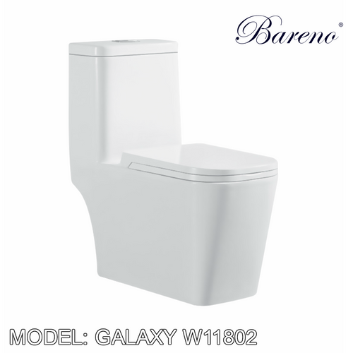 BARENO One Piece Galaxy W11802, Bathroom W.Cs, BARENO - Topware Solutions