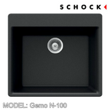 SCHOCK Granite Sink Cristalite Gemo N-100 Kitchen Sinks BARENO by SCHOCK - Topware Solutions