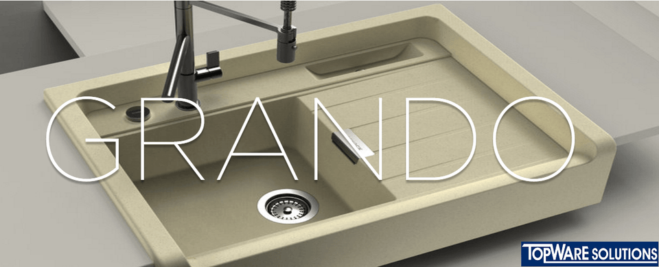 SCHOCK Granite Sink Cristadur Grando M-100 Kitchen Sinks BARENO by SCHOCK - Topware Solutions
