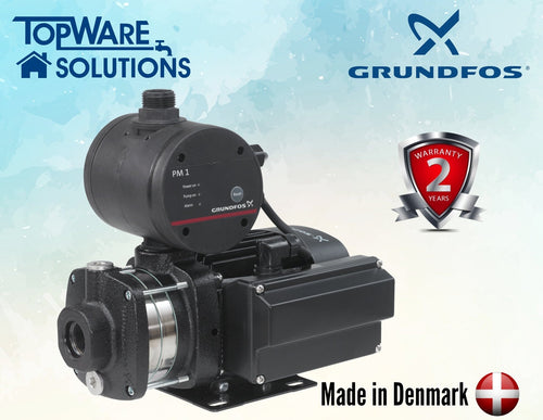GRUNDFOS Water Pump CM3-4PM1 Made in Denmark 2 Year Warranty, Water Pumps, GRUNDFOS - Topware Solutions