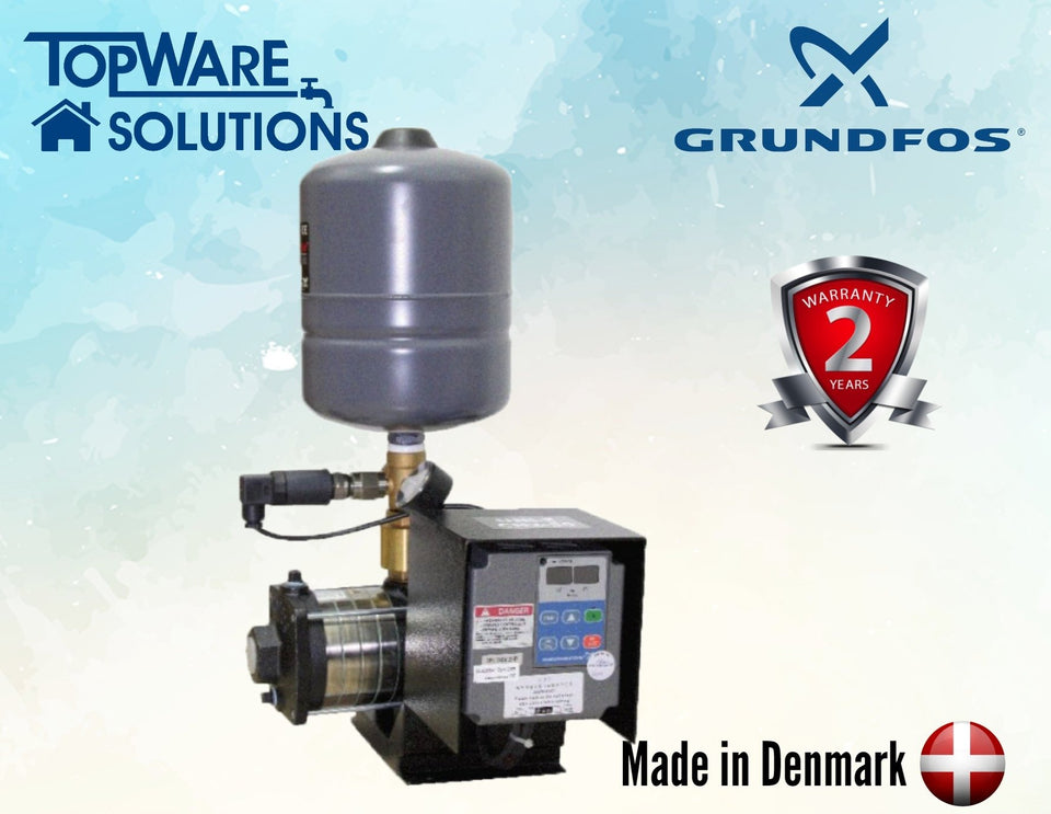 GRUNDFOS Water Pump Uni-E CM5-5 Made in Denmark 2 Year Warranty, Water Pumps, GRUNDFOS - Topware Solutions