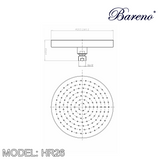 BARENO PLUS Rain Shower HR26, Bathroom Faucets, BARENO PLUS - Topware Solutions