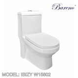 BARENO One Piece Ibizy W15802, Bathroom W.Cs, BARENO - Topware Solutions
