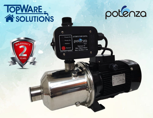 POTENZA WATER PUMP PSW2-30/037+PC, Water Pumps, POTENZA - Topware Solutions
