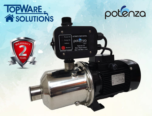 POTENZA WATER PUMP PSW2-50/055+PC, Water Pumps, POTENZA - Topware Solutions
