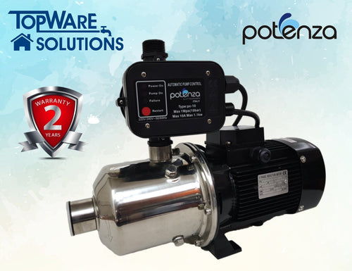 POTENZA WATER PUMP PSW4-40/075+PC, Water Pumps, POTENZA - Topware Solutions