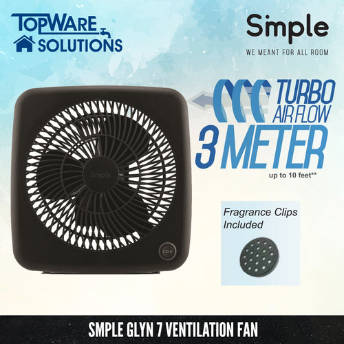 SMPLE GLYN 7 Ventilation Fan (Turbo Airflow 3 Meter)