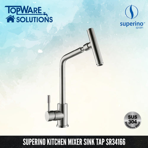 SUPERINO Pillar Mixer Sink Tap SR34166, Kitchen Faucets, SUPERINO - Topware Solutions