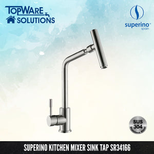 SUPERINO Pillar Mixer Sink Tap SR34166