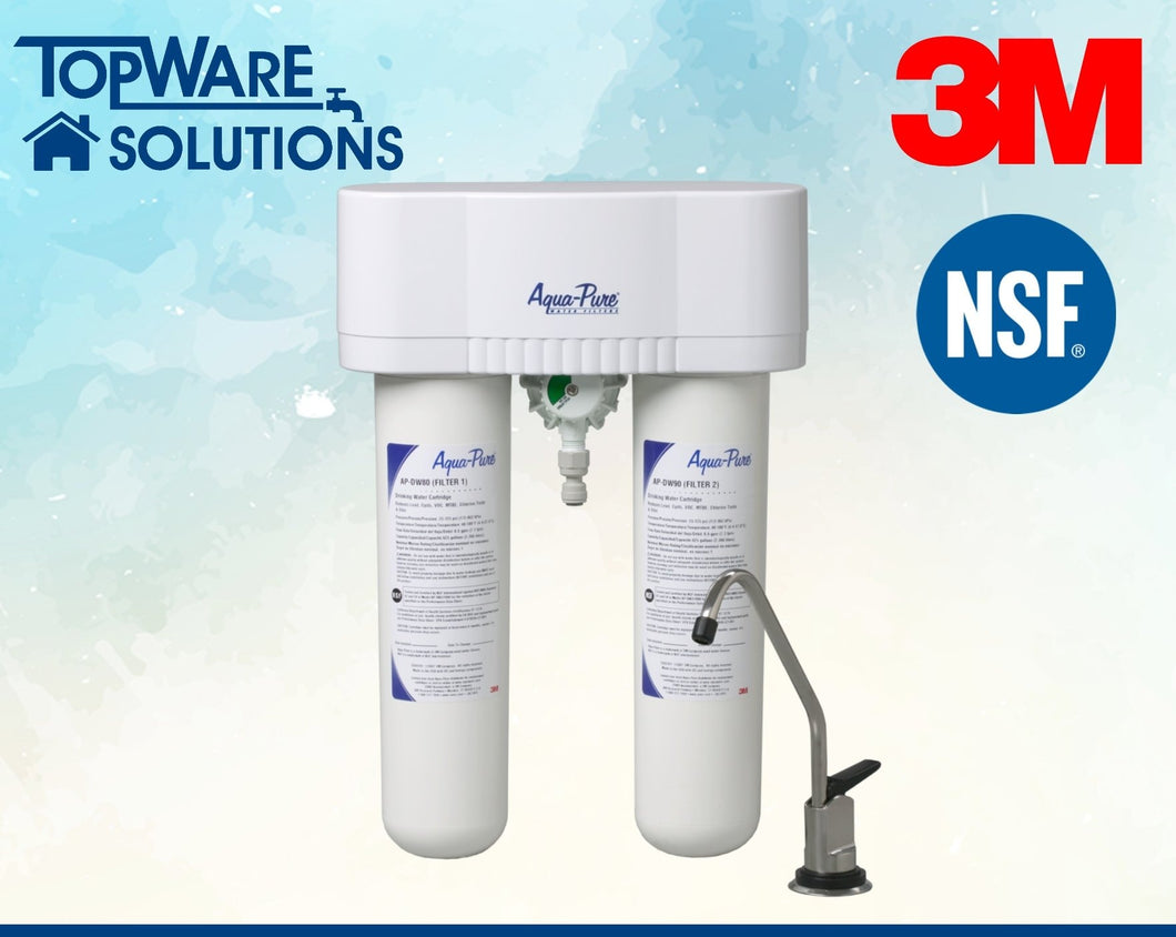 3M AP DWS1000 Indoor Undersink Drinking Water Filter System, Water Filters, 3M - Topware Solutions
