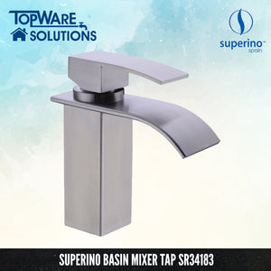 SUPERINO Pillar Basin Mixer Tap SR34183, Bathroom Faucets, SUPERINO - Topware Solutions