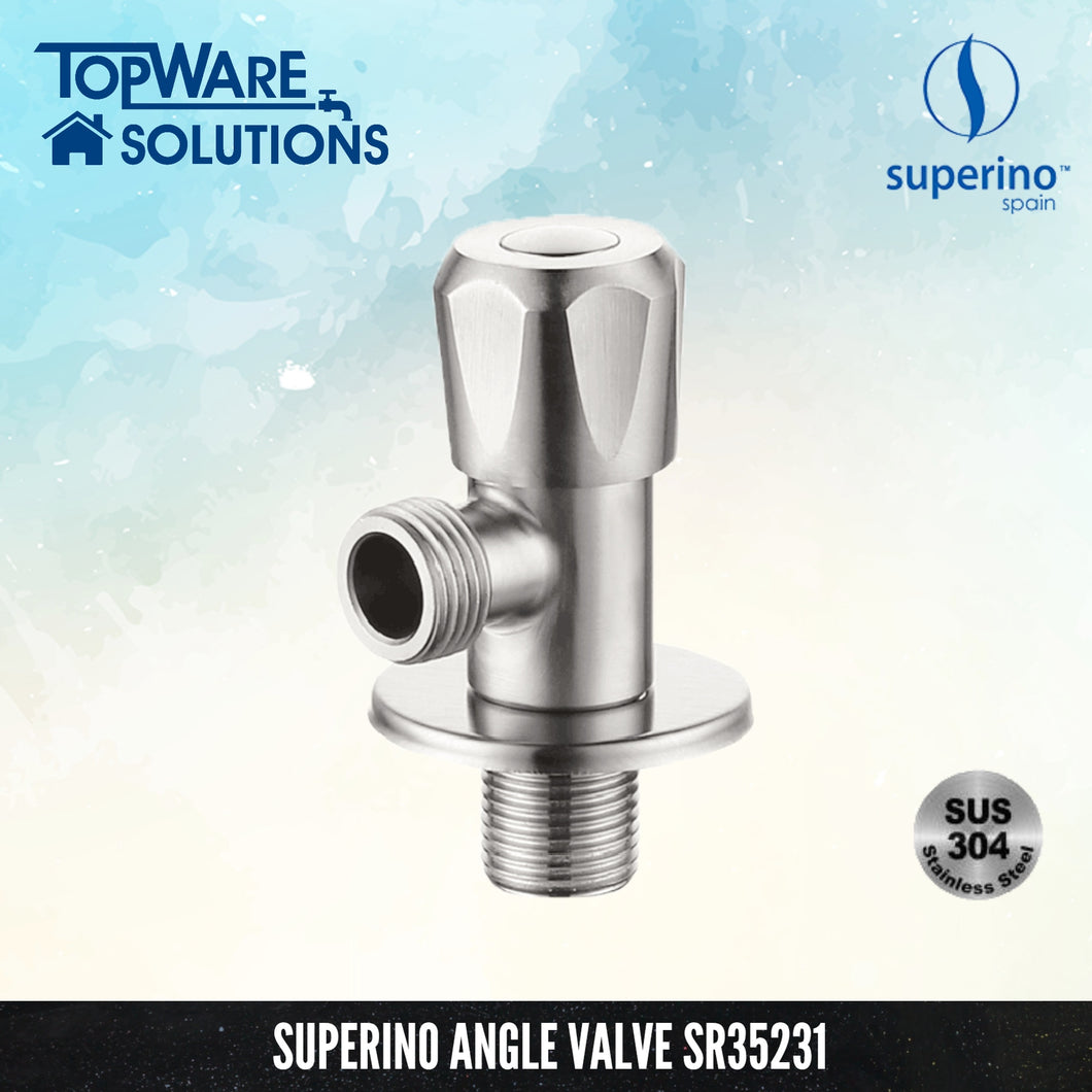 SUPERINO Angle Valve SR35231, Bathroom Faucets, SUPERINO - Topware Solutions