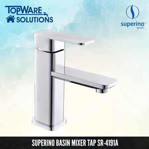 SUPERINO Pillar Basin Mixer Tap SR-4191A