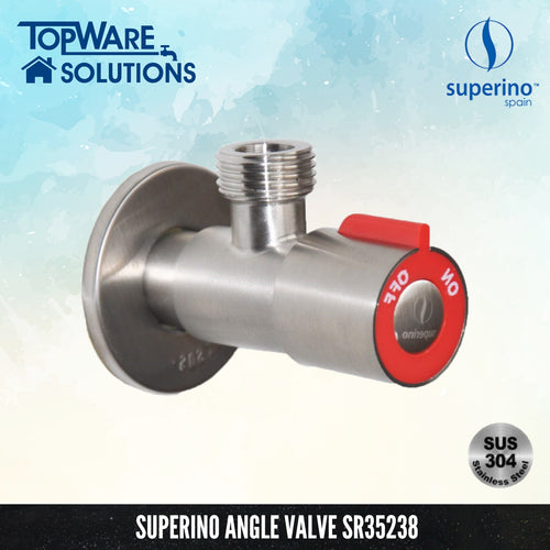 SUPERINO Angle Valve SR35238, Bathroom Faucets, SUPERINO - Topware Solutions
