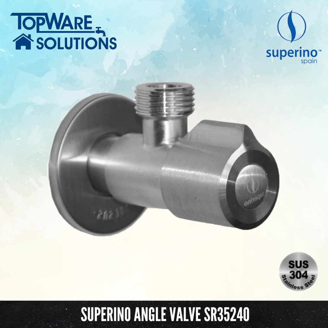 SUPERINO Angle Valve SR35240, Bathroom Faucets, SUPERINO - Topware Solutions