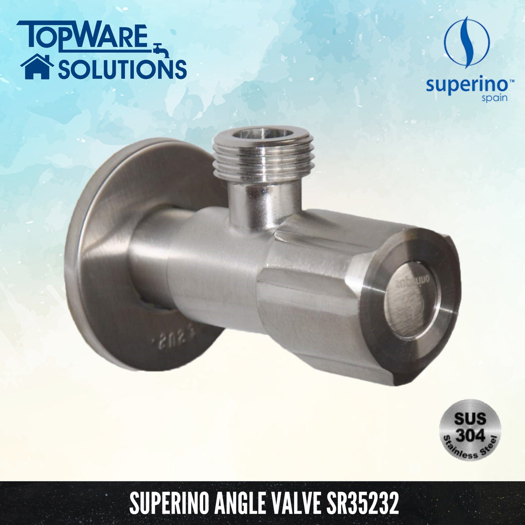 SUPERINO Angle Valve SR35232, Bathroom Faucets, SUPERINO - Topware Solutions