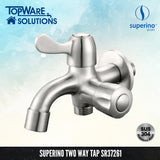SUPERINO Two Way Tap SR37261, Bathroom Faucets, SUPERINO - Topware Solutions