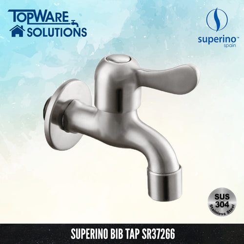 SUPERINO Bib Tap SR37266, Bathroom Faucets, SUPERINO - Topware Solutions