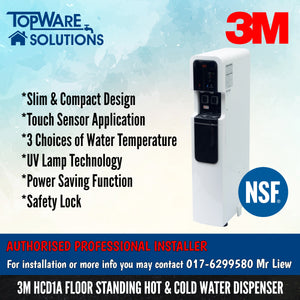 3M HCD1A Floor Stand Hot & Cold Water Dispenser [FREE INSTALLATION], Water Dispensers, 3M - Topware Solutions