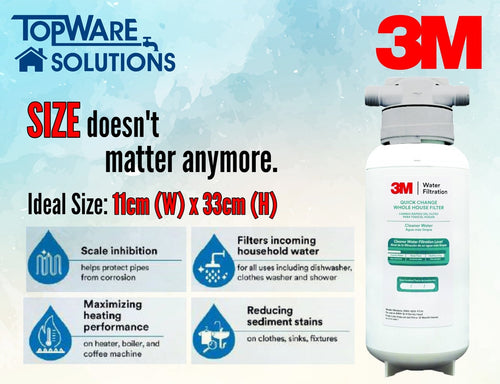 3M Outdoor & Whole House Water Filter Mini POE Filtration System, Water Filters, 3M - Topware Solutions