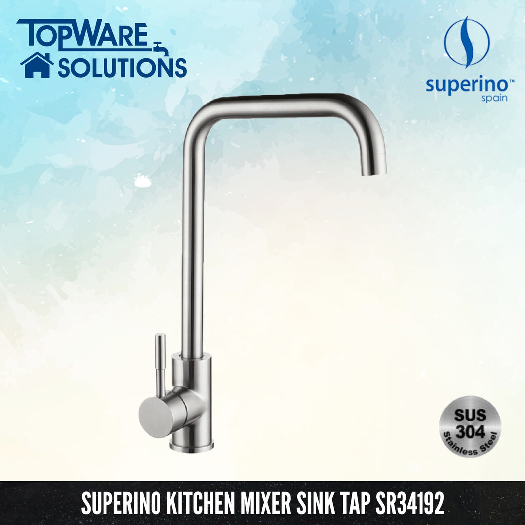 SUPERINO Pillar Mixer Sink Tap SR34192, Kitchen Faucets, SUPERINO - Topware Solutions