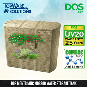 DOS Montblanc MOB900, Water Tank, DELUXE - Topware Solutions