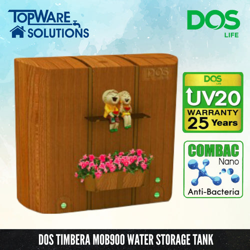 DOS Timbera MOB900T, Water Tank, DELUXE - Topware Solutions