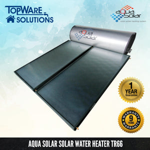 AQUA SOLAR Solar Water Heater TR66 (Including Installation), Solar Water Heater, AQUA SOLAR - Topware Solutions