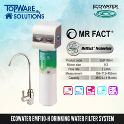 ECOWATER EMF110-H Healthy Drinking Water Filter System, Water Filters, ECOWATER - Topware Solutions