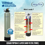 GENAIR FRP1044 Sand Filter (Fibre) Whole House Water Filter System, Water Filters, GENAIR - Topware Solutions