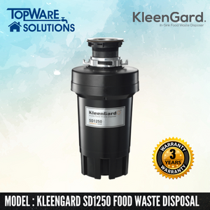 KLEENGARD Food Waste Disposer SD1250 Premium, Food Waste Disposer, KLEENGARD - Topware Solutions