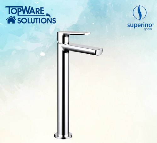 SUPERINO Raised Pillar Basin Cold Tap SR-7166A, Bathroom Faucets, SUPERINO - Topware Solutions