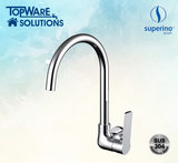 SUPERINO Wall Kitchen Sink Tap SR-8261A, Bathroom Faucets, SUPERINO - Topware Solutions