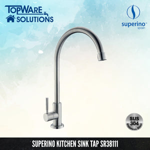 SUPERINO Pillar Sink Tap SR38111, Kitchen Faucets, SUPERINO - Topware Solutions