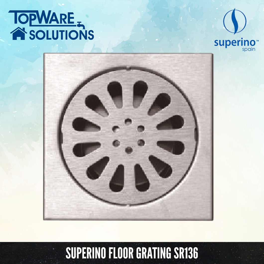 SUPERINO Floor Grating SR136, Bathroom Accessories, SUPERINO - Topware Solutions