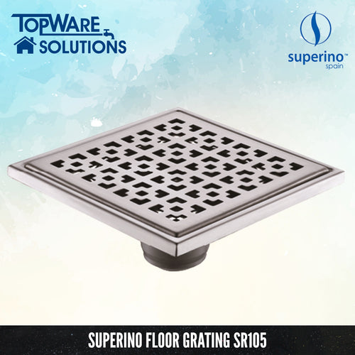 SUPERINO Floor Grating SR105, Bathroom Accessories, SUPERINO - Topware Solutions
