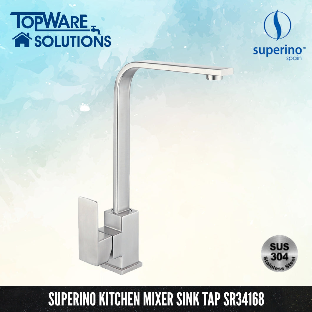 SUPERINO Pillar Mixer Sink Tap SR34168, Kitchen Faucets, SUPERINO - Topware Solutions