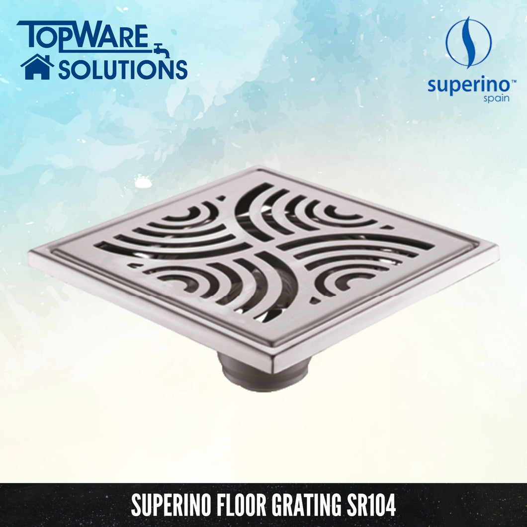 SUPERINO Floor Grating SR104, Bathroom Accessories, SUPERINO - Topware Solutions