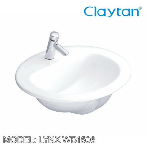 CLAYTAN Lynx Counter Top Basin WB1506, Bathroom Basins, CLAYTAN - Topware Solutions
