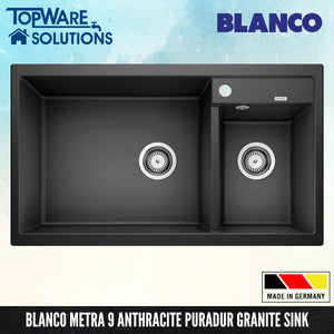 BLANCO Metra 9 Silgranit™ PuraDur™ Granite Sink, Kitchen Sinks, BLANCO - Topware Solutions