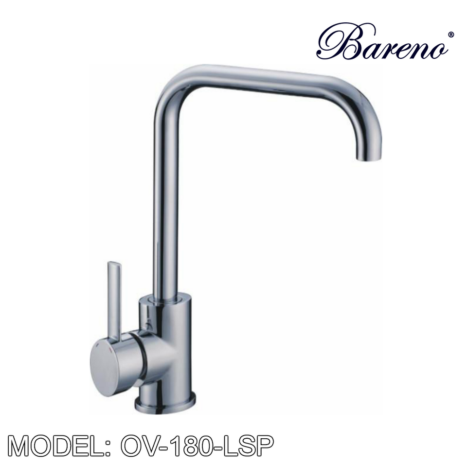 BARENO PLUS Pillar Sink Mixer OV-180-LSP, Kitchen Faucets, BARENO PLUS - Topware Solutions