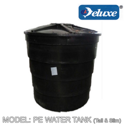 DELUXE PE Water Tank Round Series (Slim & Tall), Water Tank, DELUXE - Topware Solutions