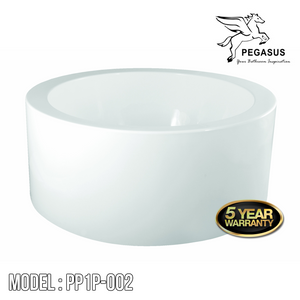 PEGASUS Stand Alone Bathtub PP1P-002, Bathtubs, PEGASUS - Topware Solutions