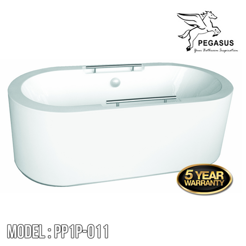 PEGASUS Stand Alone Bathtub PP1P-011, Bathtubs, PEGASUS - Topware Solutions
