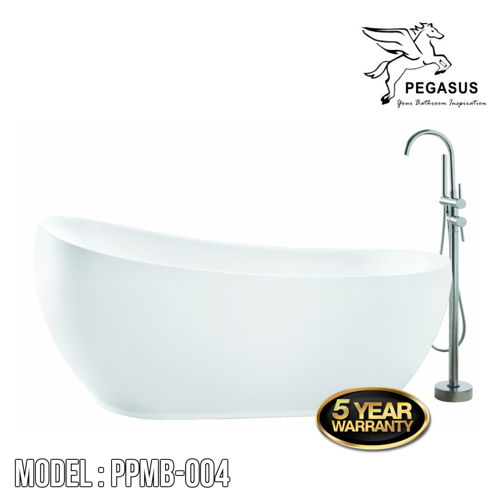 PEGASUS Stand Alone Bathtub PPMB-004, Bathtubs, PEGASUS - Topware Solutions
